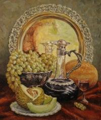Натюрморт с вином