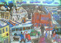 Зима у Соборной площади