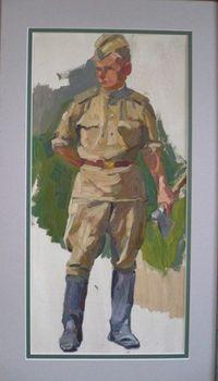 Фигура солдата