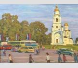 Владимир. Соборная площадь