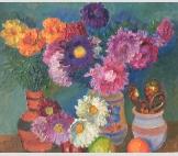 Цветы и ложки