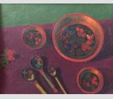Посуда на розовом