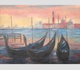 Венеция. Розовые сумерки