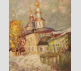 Март. Вознесенская церковь