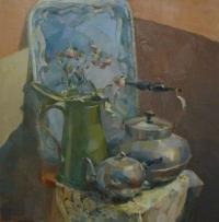 Натюрморт с чайниками
