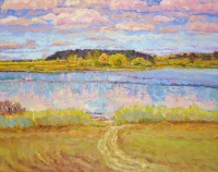 Август. Озеро. По Левитановским местам