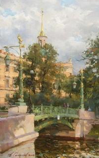 Садовый мост на Мойке