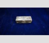 Табакерка, серебро, начало 19 века