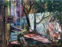 Тель-Авивский дворик