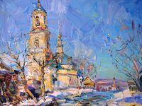 Весна у Смоленского храма