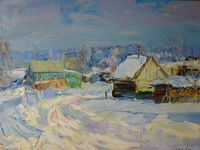 Зима в Спас-Сетчино