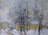 Зимний день в Суздале