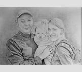Портрет Дмитрия, Дамира и Екатерины.