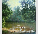Озеро в Грезино