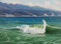 Волна в бухте
