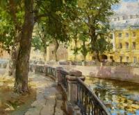 Канал Грибоедова. В тени деревьев