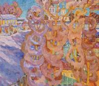 На Покров день. Рождественский монастырь во Владимире