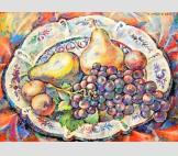 Tарелка с фруктами
