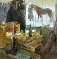 Натюрморт с лошадкой