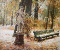 Скульптура Белонна. Первый снег
