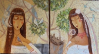 Две мадонны (диптих)