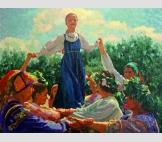 Праздник Троицы в Суздале