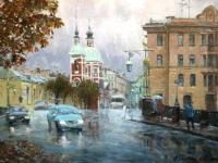 Дождливый день на Пестеля