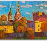 старая Москва, солнечно
