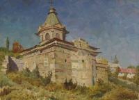 Старая церковь в Феодосии