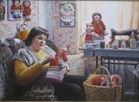 Портрет мастерицы кукол