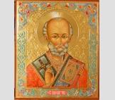 Св. Николай чудотворец  оплечный.