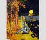 Леди и жираф