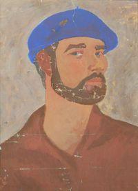 Автопортрет с бородой и в берете