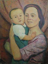 Мадонна с ребенком с ул. Мира