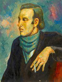 Портрет мужчины с сигаретой