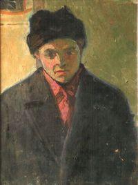 Портрет художника Валентина Шумова