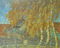 Осень в деревне