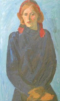 Портрет комсомолки