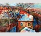 Дом с красной крышей