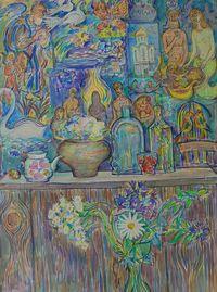 Натюрморт с лесными цветами