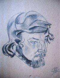 Портрет художника А.Голышева