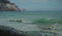 Черное море. Волна