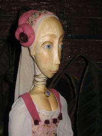 Прекрасная Дама в розовом