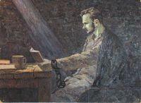 М.В.Фрунзе перед казнью во Владимирском централе