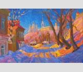 Зимнее утро во Владимире