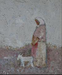 Баба с козой
