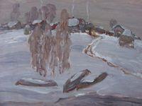 Зима в Любёнкино