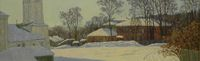 Зима на Николо-Галейской улице
