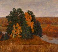 Осень на берегу Клязмы