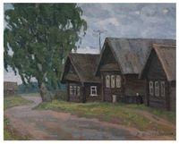 В деревне Старое Котчище